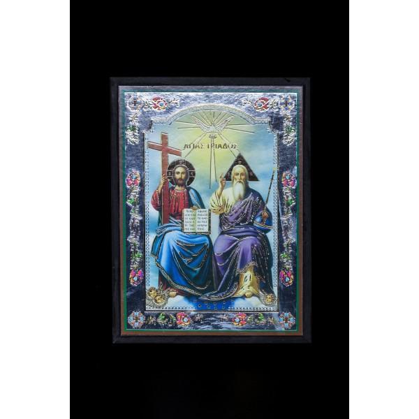 EK17007 ΞΥΛΙΝΗ ΕΙΚΟΝΑ 17cm x 23 cm